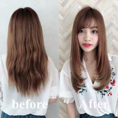 縮毛矯正 トリートメント 似合わせカット 髪質改善トリートメント ヘアスタイルや髪型の写真・画像