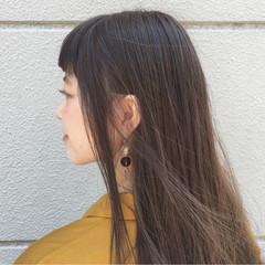 ナチュラル オフィス 外国人風 外国人風カラー ヘアスタイルや髪型の写真・画像