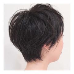 ナチュラル 小顔 似合わせ 暗髪 ヘアスタイルや髪型の写真・画像