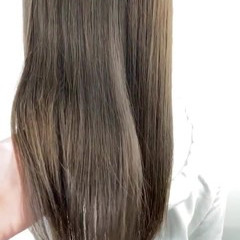 オリーブグレージュ 大人ヘアスタイル グレージュ マットグレージュ ヘアスタイルや髪型の写真・画像