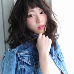 ゆるふわ 大人女子 春 かっこいい ヘアスタイルや髪型の写真・画像