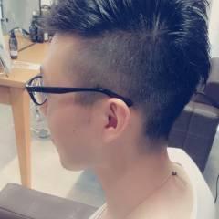 ショート 刈り上げ ボーイッシュ ヘアスタイルや髪型の写真・画像