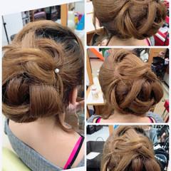 大人女子 ロング 上品 ヘアアレンジ ヘアスタイルや髪型の写真・画像