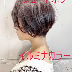 ショートボブ ベリーショート ショート 大人女子 ヘアスタイルや髪型の写真・画像
