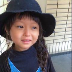 ロング ガーリー 子供 前髪あり ヘアスタイルや髪型の写真・画像