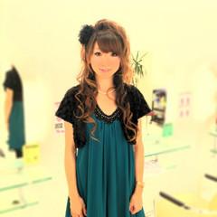 ショート パーティ ロング ヘアアレンジ ヘアスタイルや髪型の写真・画像