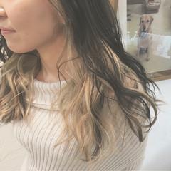 ロング ブリーチ インナーカラー ストリート ヘアスタイルや髪型の写真・画像