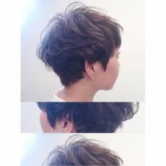 パンク 暗髪 ウェットヘア 春 ヘアスタイルや髪型の写真・画像
