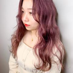 ハイトーンカラー イルミナカラー アディクシーカラー ストリート ヘアスタイルや髪型の写真・画像