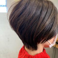 ショートボブ ベリーショート ショートヘア エレガント ヘアスタイルや髪型の写真・画像