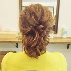 涼しげ ヘアアレンジ デート 夏 ヘアスタイルや髪型の写真・画像
