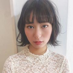 ヘアアレンジ ボブ 簡単ヘアアレンジ 韓国ヘア ヘアスタイルや髪型の写真・画像