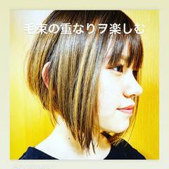 モード ショートボブ ボブ ショートヘア ヘアスタイルや髪型の写真・画像