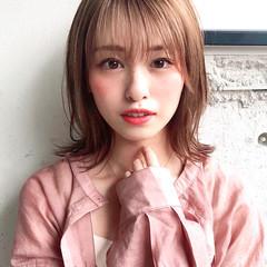 ミディアム アンニュイほつれヘア デジタルパーマ デート ヘアスタイルや髪型の写真・画像