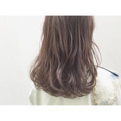 コンサバ イルミナカラー 暗髪 ブラウン ヘアスタイルや髪型の写真・画像