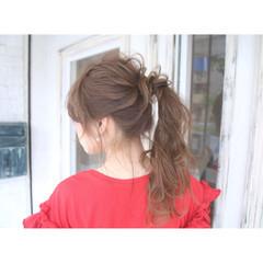 ロング 梅雨 デート 結婚式 ヘアスタイルや髪型の写真・画像