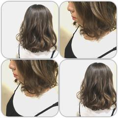 ブルージュ ストリート イルミナカラー アッシュ ヘアスタイルや髪型の写真・画像