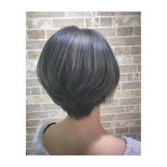 ブリーチ アッシュ 外国人風カラー モード ヘアスタイルや髪型の写真・画像