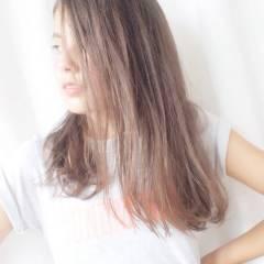 ガーリー モテ髪 愛され グラデーションカラー ヘアスタイルや髪型の写真・画像