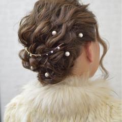 大人かわいい パーマ ショート ナチュラル ヘアスタイルや髪型の写真・画像