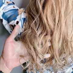 ナチュラル 外国人風カラー 大人可愛い 透明感カラー ヘアスタイルや髪型の写真・画像