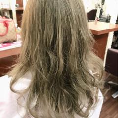 デート ミルクティー マッシュ フェミニン ヘアスタイルや髪型の写真・画像
