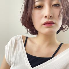 エレガント ショートヘア ミニボブ ウルフカット ヘアスタイルや髪型の写真・画像
