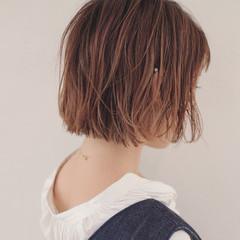 ヘアアレンジ 夏 リラックス ボブ ヘアスタイルや髪型の写真・画像
