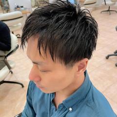 メンズカジュアル 刈り上げ ストリート メンズ ヘアスタイルや髪型の写真・画像