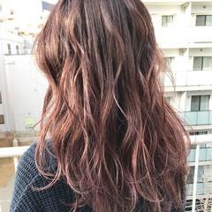 くせ毛風 ストレート ロング ベージュ ヘアスタイルや髪型の写真・画像