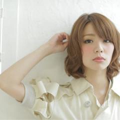 パーマ リラックス デート ナチュラル ヘアスタイルや髪型の写真・画像