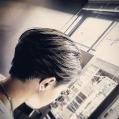 坊主 刈り上げ ショート モード ヘアスタイルや髪型の写真・画像