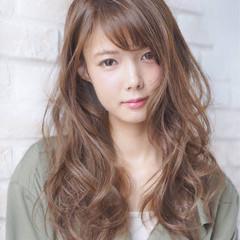 大人女子 大人かわいい ナチュラル 外国人風 ヘアスタイルや髪型の写真・画像