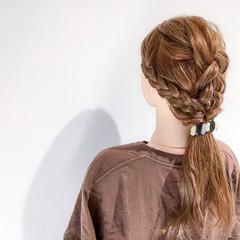 上品 セミロング アウトドア デート ヘアスタイルや髪型の写真・画像
