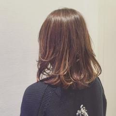 外国人風 ダブルカラー イルミナカラー ハイライト ヘアスタイルや髪型の写真・画像