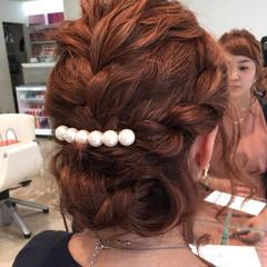 簡単ヘアアレンジ ミディアム ショート 大人かわいい ヘアスタイルや髪型の写真・画像