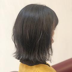 エレガント ボブ 切りっぱなしボブ 外ハネ ヘアスタイルや髪型の写真・画像