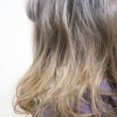 グラデーションカラー モテ髪 ガーリー 黒髪 ヘアスタイルや髪型の写真・画像