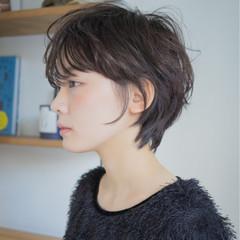 黒髪 小顔 ナチュラル 大人女子 ヘアスタイルや髪型の写真・画像