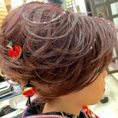 ロング アップスタイル ヘアアレンジ コンサバ ヘアスタイルや髪型の写真・画像