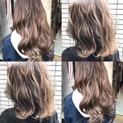 ガーリー ミルクティー 簡単ヘアアレンジ 外国人風 ヘアスタイルや髪型の写真・画像