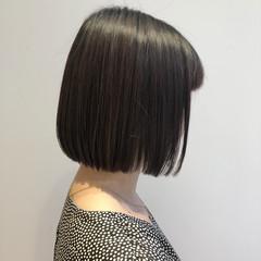 髪質改善トリートメント ナチュラル ショートヘア ボブ ヘアスタイルや髪型の写真・画像