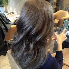 セミロング 透明感 外国人風 ストリート ヘアスタイルや髪型の写真・画像