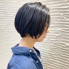 大人ショート ショートヘア 小顔ショート ナチュラル ヘアスタイルや髪型の写真・画像