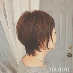 秋 ウルフカット デート 冬 ヘアスタイルや髪型の写真・画像