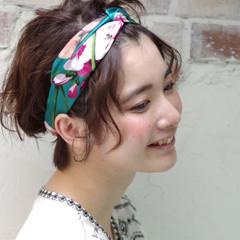 ガーリー フェミニン ラフ ピュア ヘアスタイルや髪型の写真・画像