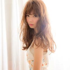 モテ髪 ブラウン ナチュラル ピュア ヘアスタイルや髪型の写真・画像
