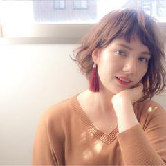 グラデーションカラー モテ髪 ナチュラル ミディアム ヘアスタイルや髪型の写真・画像