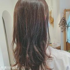 大人かわいい 秋冬スタイル ロング お出かけヘア ヘアスタイルや髪型の写真・画像