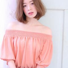 フェミニン 色気 ボブ 大人女子 ヘアスタイルや髪型の写真・画像